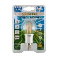 LED Filament Dimbar klot E14 4W (35W)