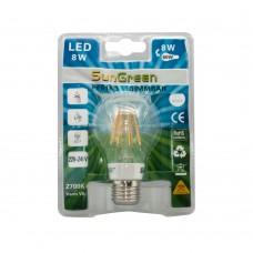 LED Filament Dimbar E27 8W (65W)