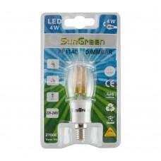LED Filament Kron Dimbar E14 4W (35W)