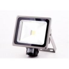 LED Strålkastare 50W IR-sensor
