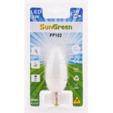 LED Kronljuslampa E14 2W (16W)