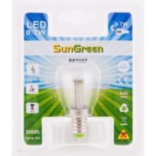LED Päronlampa E14 0,7W (10W)