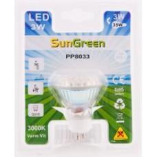LED Spotlampa GU10 3W (35W)